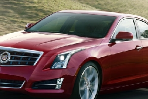Cadillac Luxury Car with a very very long long title text